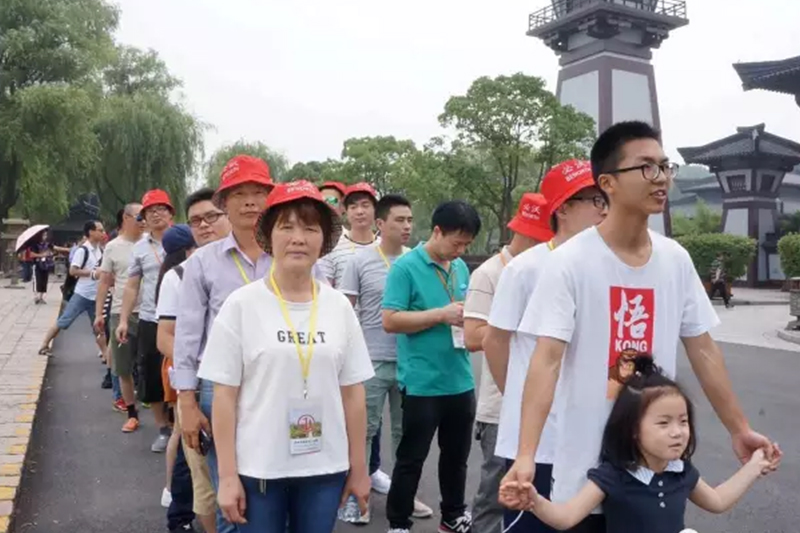 Tour of Beworth people in Jiangsu, Zhejiang and Shanghai